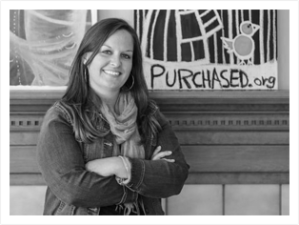 Jessica Thorne-  Founder of Purchased.